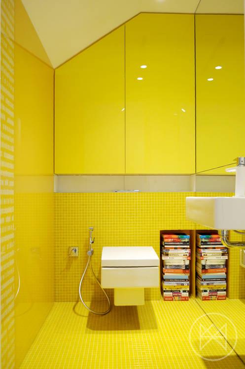 тоалетна в жълто