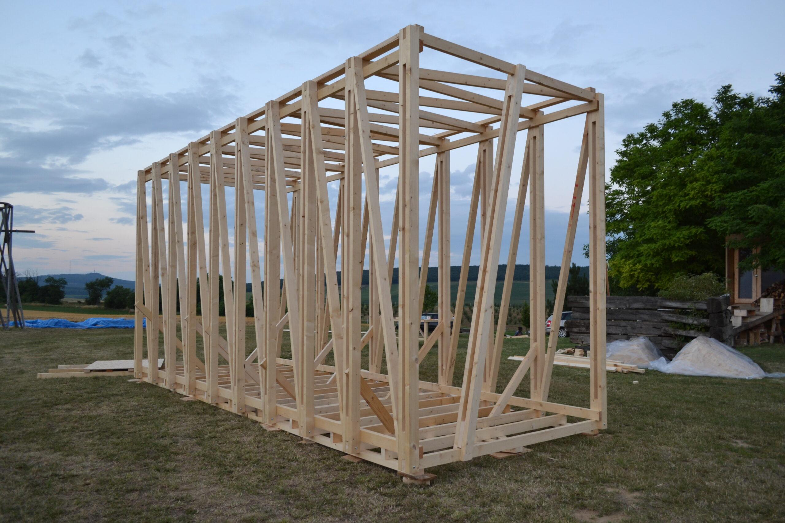 дървена конструкция църква