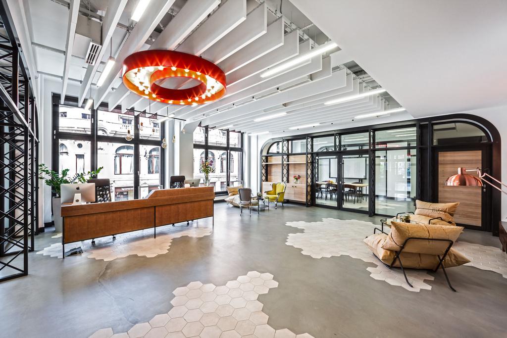 интериорен дизайн на офис във Вроцлав